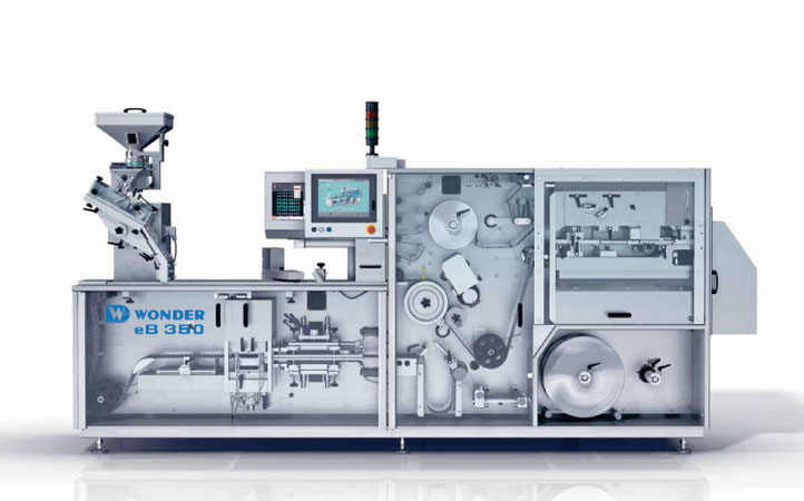 eB350 Blister Packing Machine